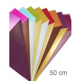 Geschenkpapier Coated bi-color 50